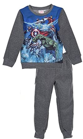 Marvel - Chándal - para niño Gris 4 años: Amazon.es: Ropa y accesorios