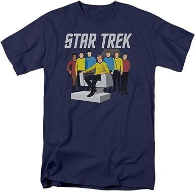 Star Trek TV Series Vector Crew Kirk Spock Scotty Mccoy Uhura ...