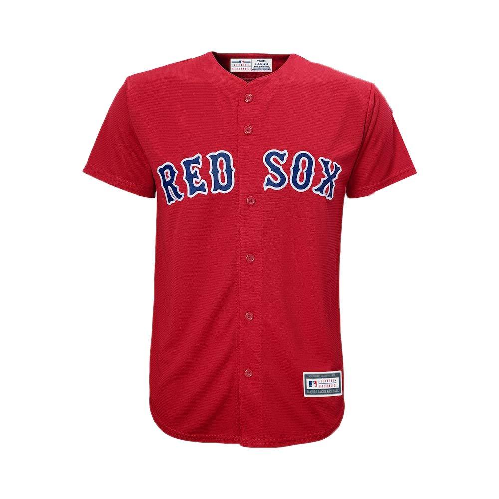 1651740397739 Outerstuff Majestic Andrew Benintendi Boston Red Sox #16 Youth Alternate Jersey  Red Jerseys