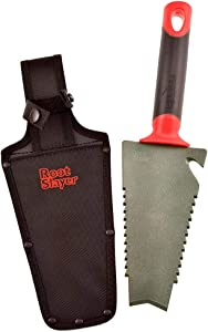 Radius Garden 17011 Root Slayer, Trowel/Holster, Red