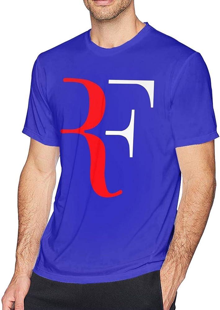 Playera de Verano para Hombre con Logo de Roger Federer, Camiseta ...