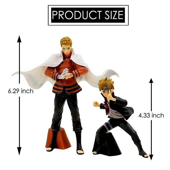 Amazon.com: Estatua de padre e hijo de Naruto sh Figuarts ...