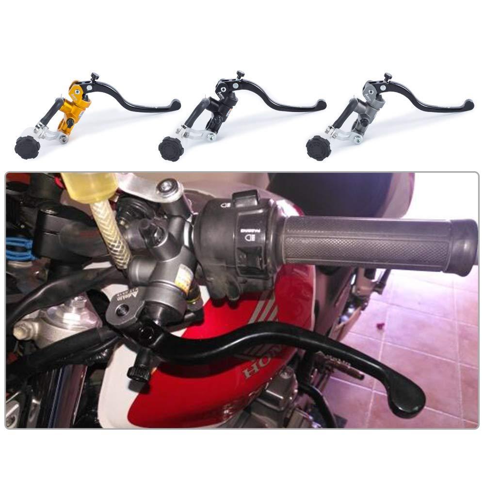 Accrie Moto 19X18 17.5x18 16X18 Freno Adelin Cilindro Principale Freno Idraulico Pompa Frizione Maniglia a Leva 16x18mm