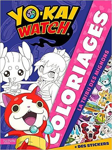 Yo Kai Watch Coloriages Tribu Les Mignons Amazon Fr Hachette Jeunesse Livres