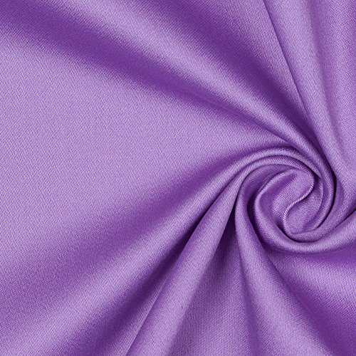 African Violet Stretch Cotton (Stretch Sateen Fabric)