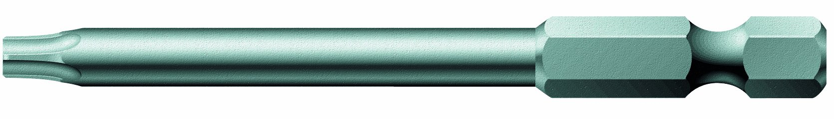 Wera Series 4 867/4 Z Sheet Metal Bit, TORX TX 25 x 70mm Blade, 1/4'' Drive (Pack of 10) by Wera