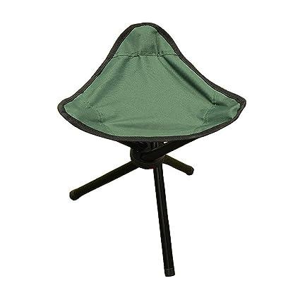 PiscatorZone Tripod Stool,3 Legged Stool, Children Baby Seat Kids  Furniture Foldable