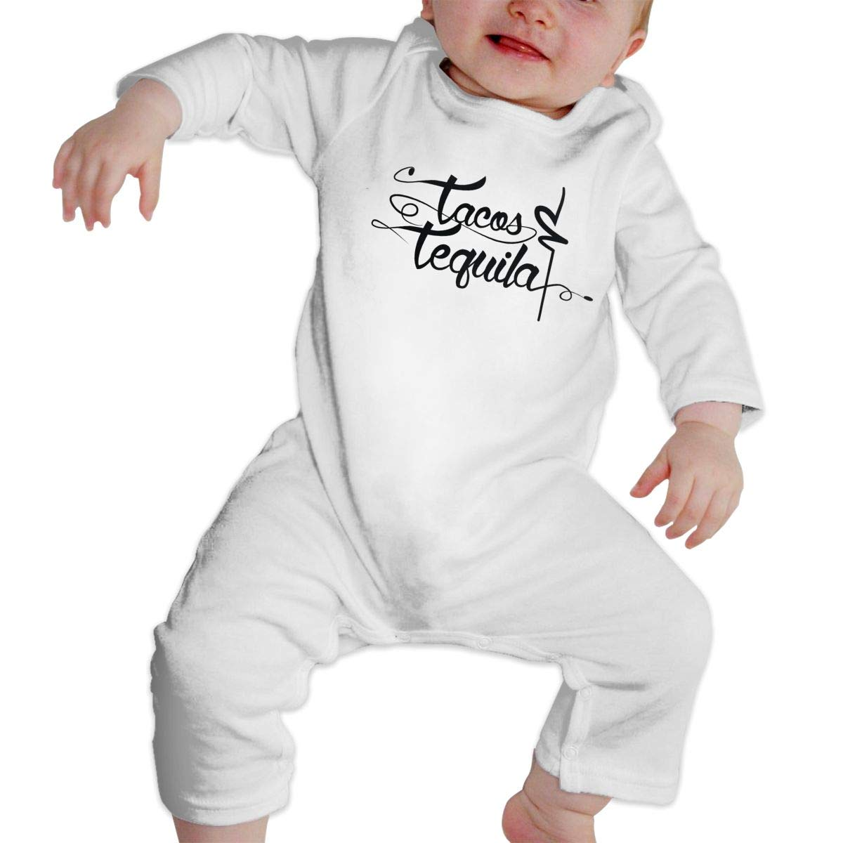 Fasenix Tacos /& Tequila Romper Jumpsuit Long Sleeve Bodysuit Overalls Outfits Clothes for Newborn Baby Boy Girl