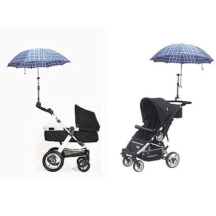 meyfdsyf bebé coche cochecito Bick soporte ajustable de niños paraguas sombrilla soporte