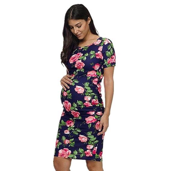 Ropa Embarazadas Verano Vestidos AIMEE7 Ropa Embarazadas Moda Verano Ropa Embarazadas Vestidos Estampadas Ropa Embarazadas Vestidos Casual Embarazadas ...