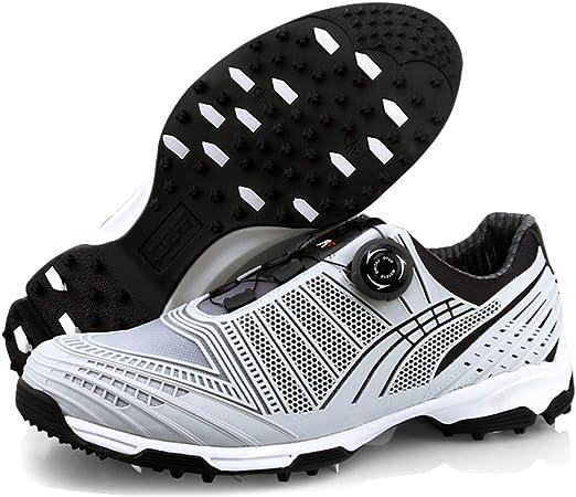 TOT Zapatillas de Golf Spikeless para Hombre Zapatillas Deportivas ...