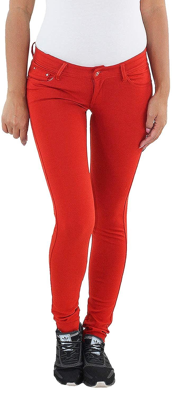 SOTALA Damen Treggings Skinny Leggings Jeggings Röhre Slim Fit Stretch Hüft Hose