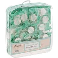 HOMYL 100 pcs Skin Face Care DIY Facial Paper Compress Mask Kit