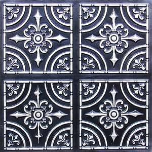 Wonderful 12 Inch Ceramic Tile Tall 12X12 Ceiling Tiles Lowes Round 12X12 Ceramic Tile 2 X 12 Ceramic Tile Youthful 20X20 Ceramic Tile Green20X20 Floor Tile Amazon.com: 12x12 Pattern Tin Ceiling Tiles 2x2 Flat #205 Antique ..