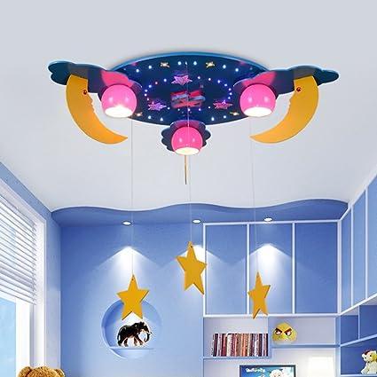 Lámpara de Techo - LED Estrellas Luna Cuarto de los niños ...