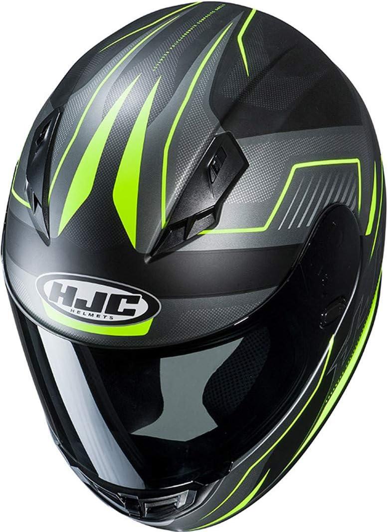 Motorradhelm HJC CS 15 TRION MC1SF L Schwarz//Grau//Rot