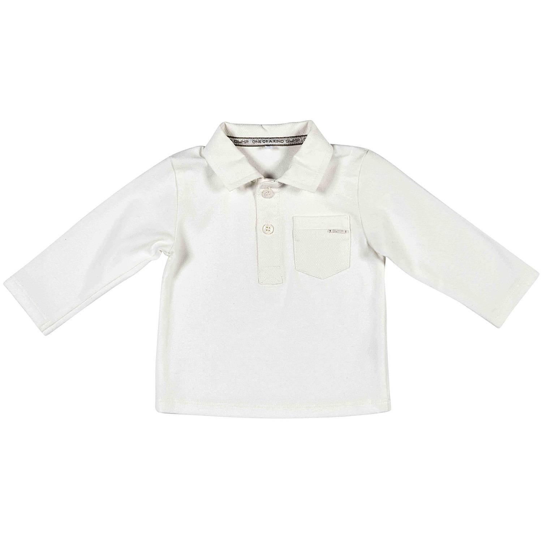 Gymp - Polo - para bebé niño Blanco Roto 62: Amazon.es: Ropa y ...