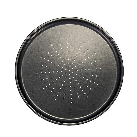 xMxDESiZ - Bandeja de horno para pizza (acero al carbono ...