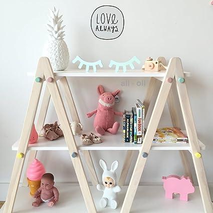 Amazon.com: Sleepy Eye Decoración de pared para bebé Nursery ...