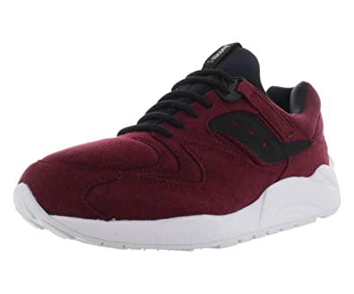 100% authentic c4932 4dfb8 Saucony Originals Men s Grid 9000 -HT Jersey Maroon Sneaker