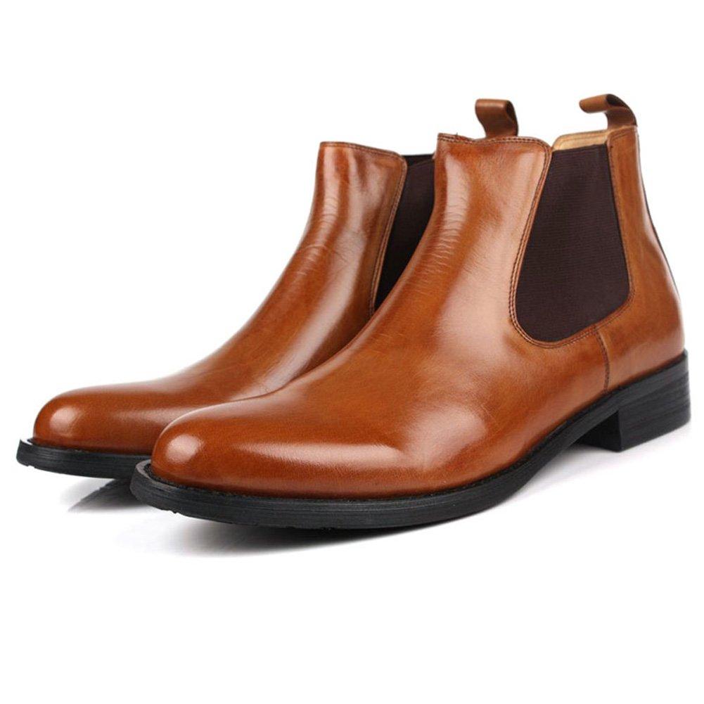 Santimon-Men's Genuine Leather Handsewn Martin Boots Shoes: Amazon.ca: Shoes  & Handbags