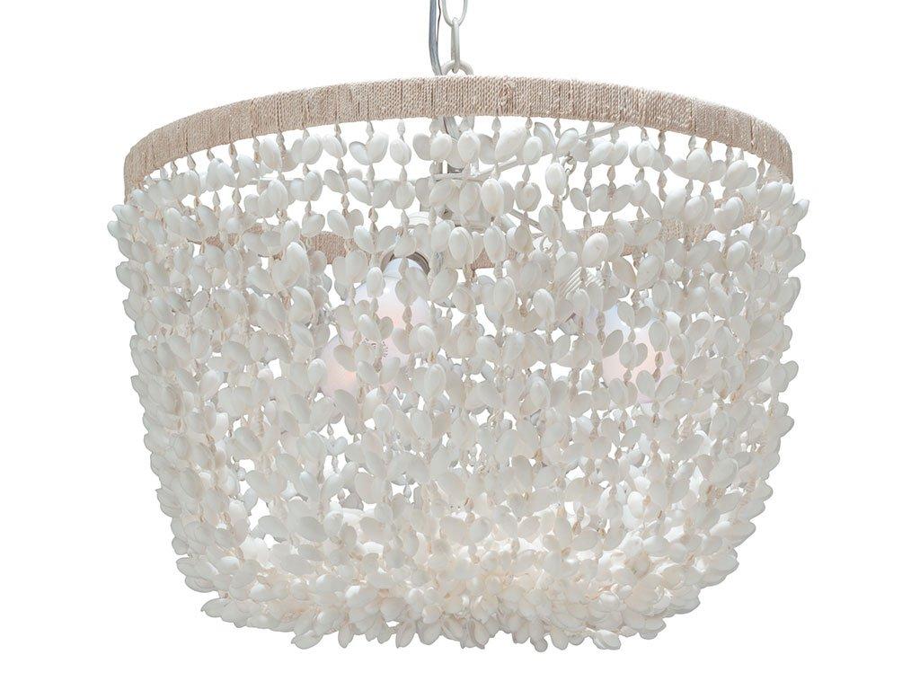 Kouboo inverted pendant lamp bubble seashell white ceiling kouboo inverted pendant lamp bubble seashell white ceiling pendant fixtures amazon mozeypictures Images