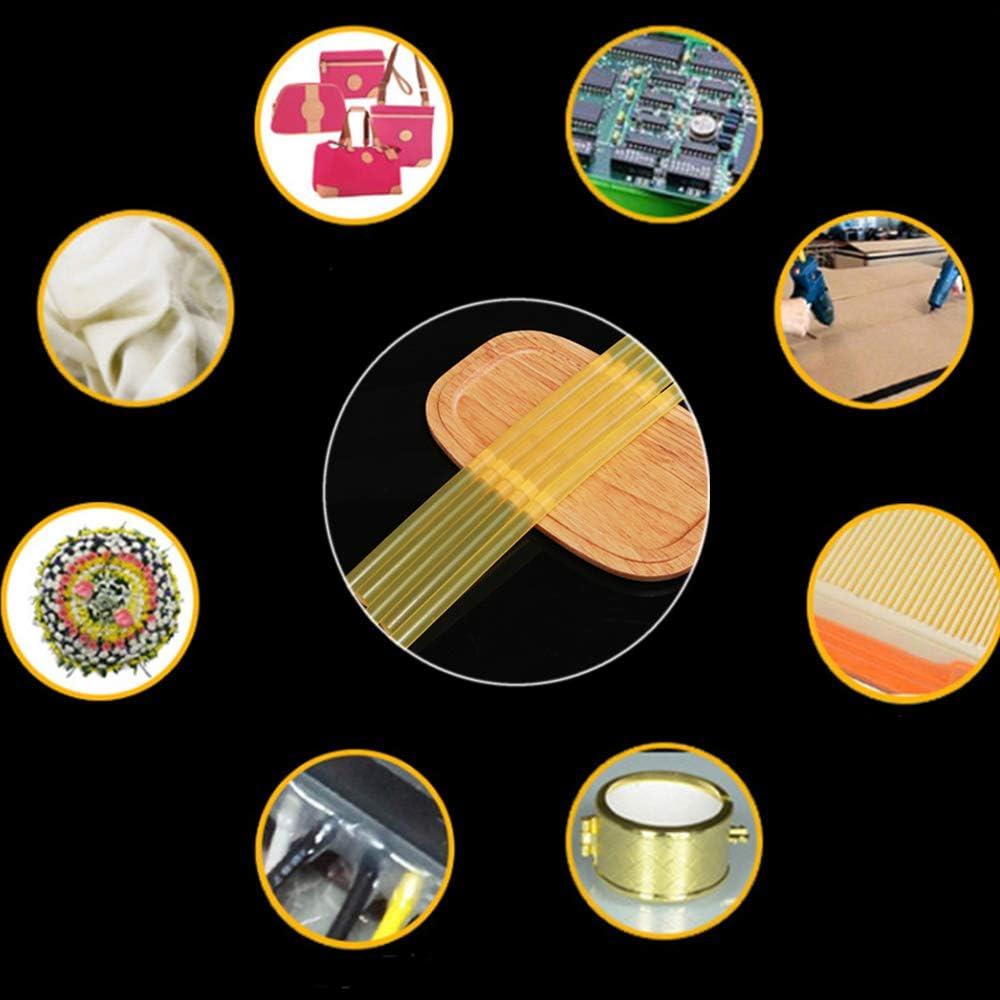 Heissklebepistole Klebesticks Hei/ßkleber Sticks f/ür DIY Handwerk Schm/ücken Klebesticks 12PCS Gelb Hei/ßklebestifte Hei/ßklebesticks 7x270mm kratives Basteln