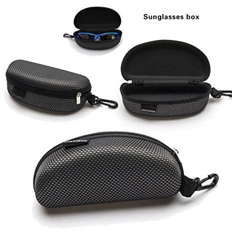 Back To Search Resultsapparel Accessories Zipper Sunglasses Hard Case Eye Glasses Protector Portable Container Box Ql Sale Eyewear Accessories