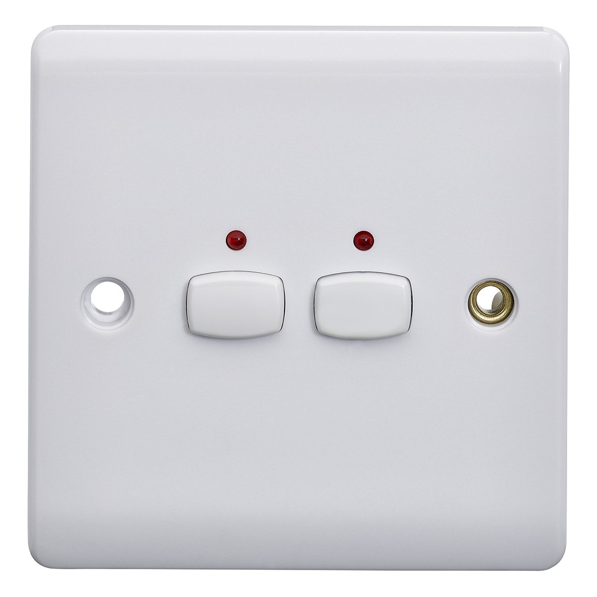 Energenie Miho009 Alexa Compatible Mihome 2 Gang Light Switch 240 V Wiring Up A Double Dimmer Uk White Diy Tools