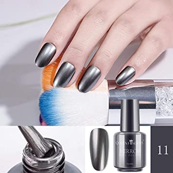Amazon Com Mirror Nail Polish 8ml Metallic Nail Polish