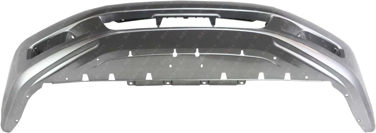 Painted NH700M Alabaster Silver Metallic Front Bumper Cover for 2006 2007 Honda Accord Sedan 4 Door 06 07 BUMPERS THAT DELIVER HO1000235