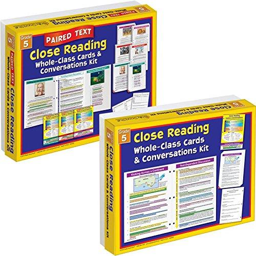 - Really Good Stuff Close Reading Single & Paired Text Classroom Kit - Grade 5