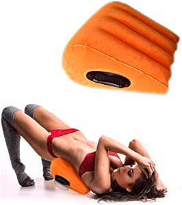 Adult Toy for Couples, s-ē-x Inflatable Pillow, Adjust Different Positions to Relaxed & Massage Body, Fun and Surprising Gift for Couples for Deeper Penetration Wedges - LI