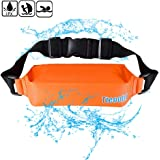 Mercs 防水ポーチ 防水バック ランニングポーチ ウエストバッグ PVC 防水 大容量 調節可能 雨 海 登山 ジョギング 釣り メンズ レディース 兼用「7色」