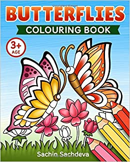 Butterflies Colouring Book Beautiful World Of Magical Butterfly And