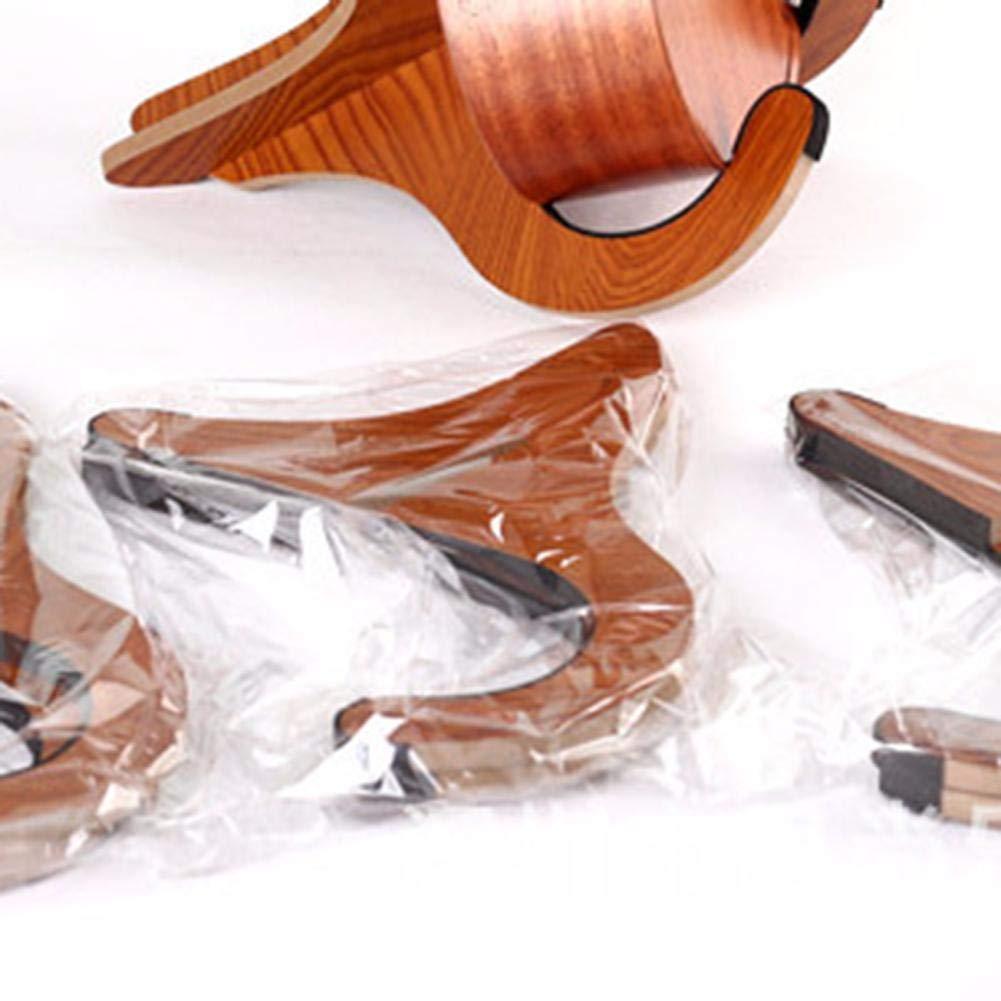 Plegable y port/átil Adecuado para guitarra//viol/ín//banjo Soporte vertical Yves25Tate soporte ukelele