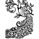 Darice Embossing Folder, 4.25 by 5.75-Inch, Peacock