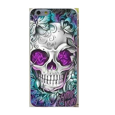 coque iphone 8 plus tete de mort mexicaine