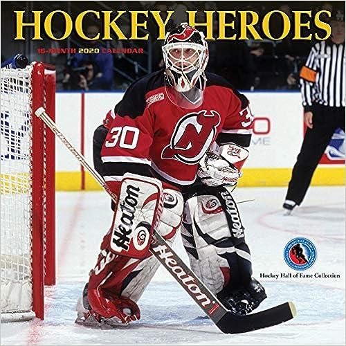 Livre numérique Hockey Heroes 2020 Calendar