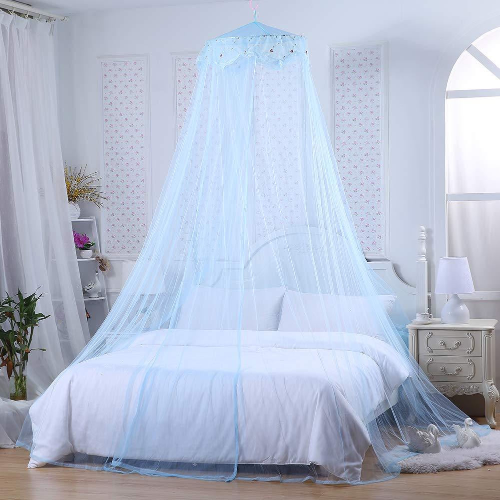 moustiquaire moustiquaire Lai-LYQღ Joli Rideau de lit de Princesse /à Motif d/ôme Floral pour Chambre denfant d/écoration de Chambre de Fille moustiquaire