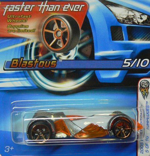 Hot Wheels 2005 First Editions 5 of 10 Torpedoes Blastous with Faster Than Ever Wheels ()