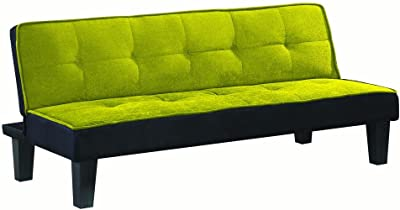 Amazon Com Dhp Emily Futon Sofa Bed Modern Convertible