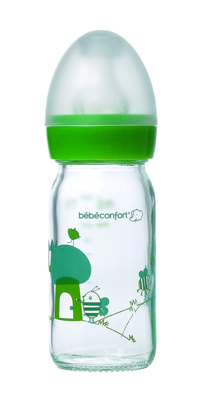 Bébé Confort Biberon Verre 110 ml Silicone T1 bébéconfort 30001126