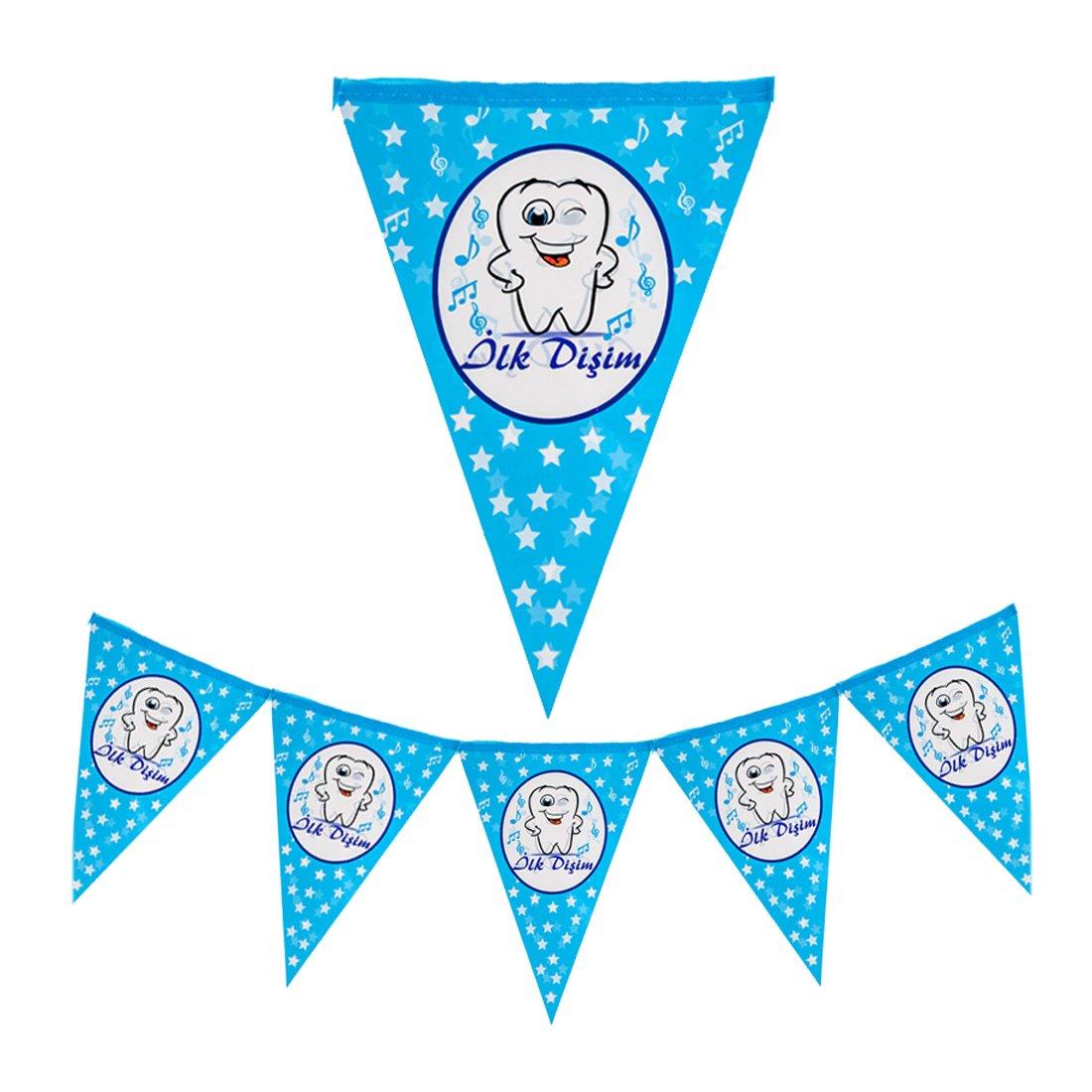 Dis Bugdayi Set Banner Dis Sekeri Deko Babyparty Mevlüt Zahnparty Deko Ballon