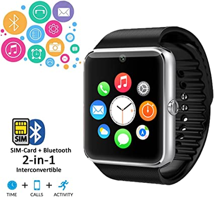 Amazon.com: Indigi New 2017 GT08 SmartWatch and Phone - iOS ...