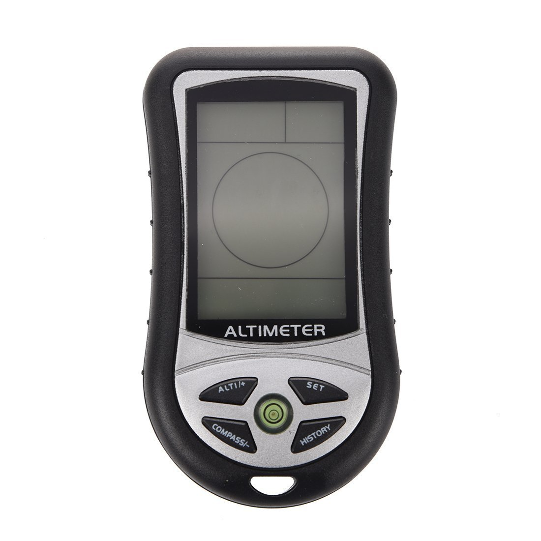 SODIAL(R) 8 In 1 Function Digital LCD Compass Altimeter Barometer Thermo Temperature (Black) SODIAL£¨R£©