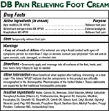 Magni Life DB Pain Relieving Foot Cream, 4 Ounce