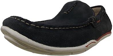 CLARKS Men's Rango Rumba Slip-On Loafer,Navy,9 ...