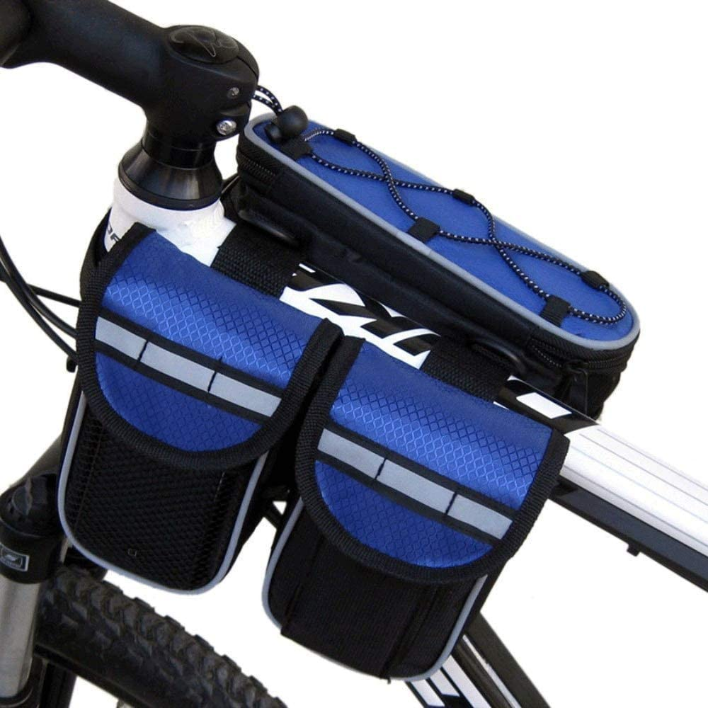 Wuxingqing Bolsa de Cuadro de Bicicleta Impermeable Bolsa de ...