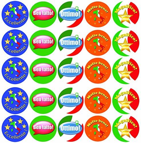 italian stickers for classroom - 1